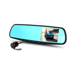 آینه مانیتور دار با دوربین جلو و دنده عقب